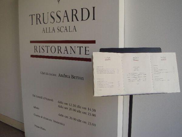 Trussardi's Restaurant