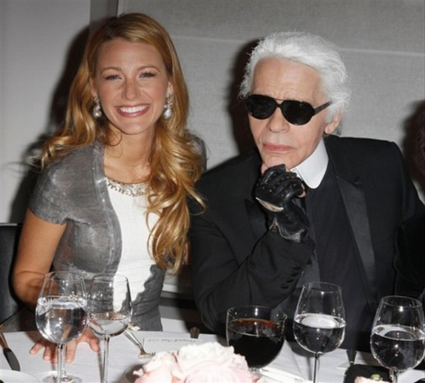 chanel karl lagerfeld party