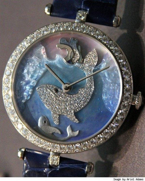vca cadrans extraordinaires Van Cleef & Arpels' Cadrans Extraordinaires Animal Theme Dials are Works of Art