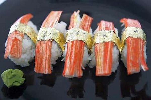 worlds most expensive sushi 2010 Elite Round Up: 70 World's Most Expensive Offerings from Luxury Brands