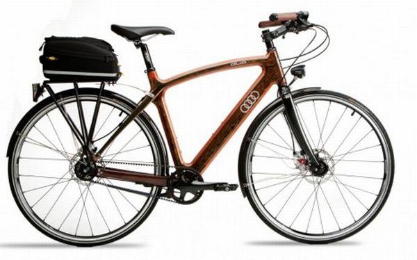 Audi Wooden Bike