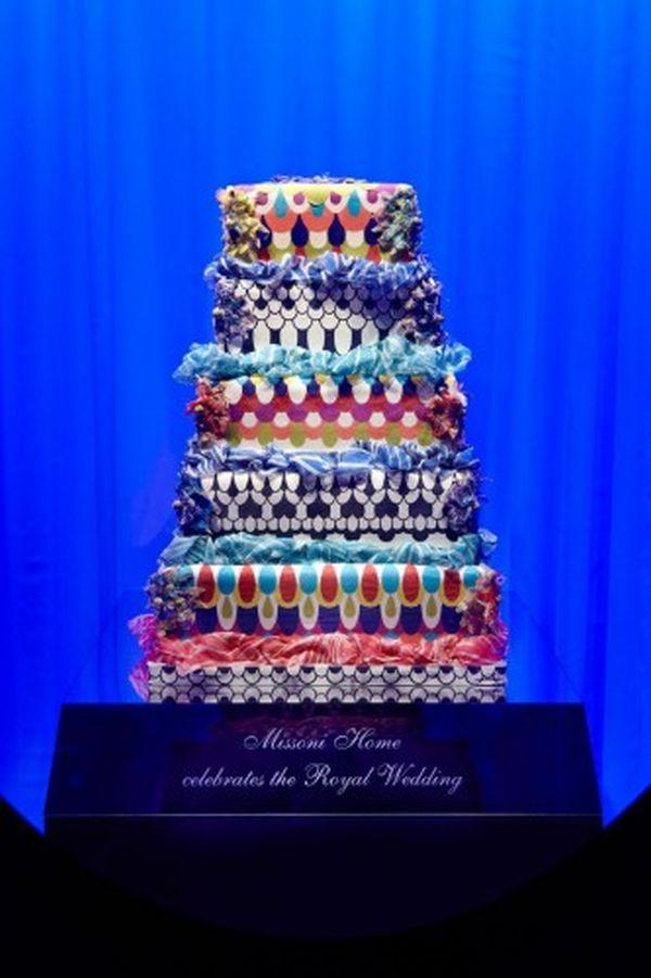 Missoni-cake