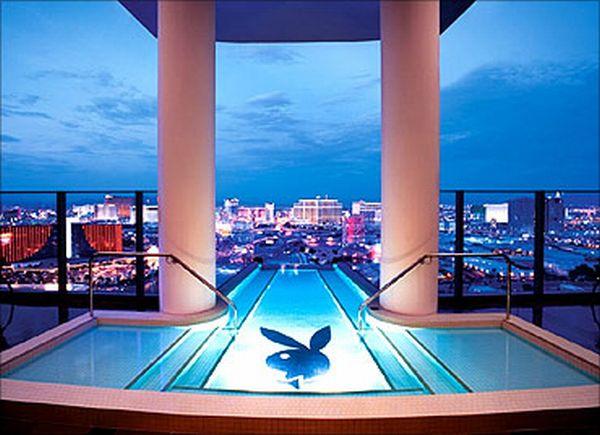 hugh hefner sky villa at the palms casino. Hugh Hefner Sky Villa at Palms