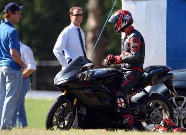 ducati prince william bike