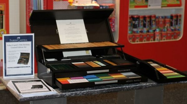 faber castell limited edition Faber Castell Releases the Most Comprehensive Pencil Case on its 250th Anniversary