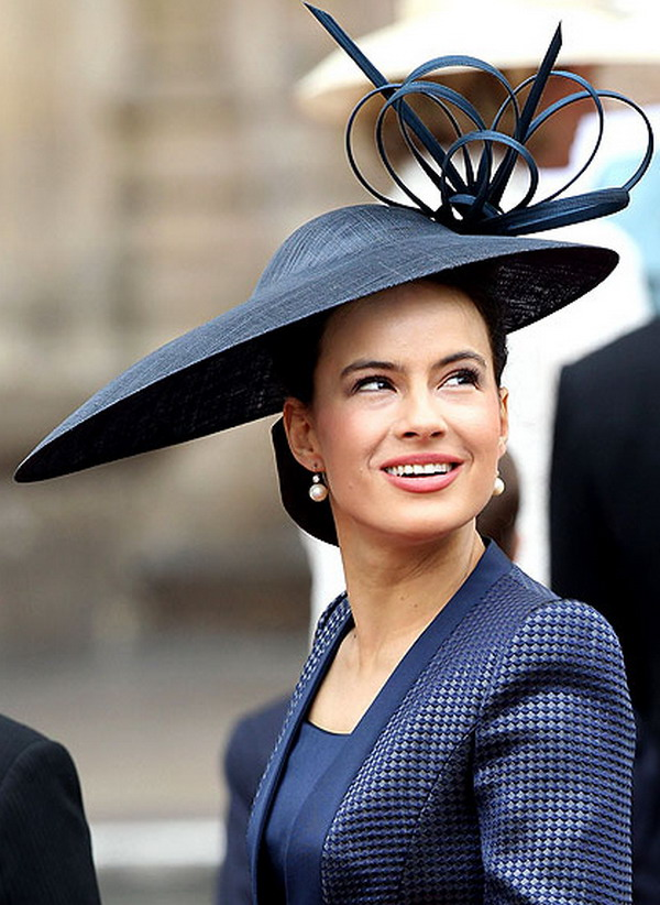 lady frederick 18 Head Turning Hats At The Royal Wedding