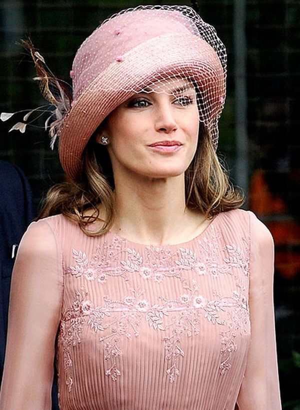 princess leitzia 18 Head Turning Hats At The Royal Wedding
