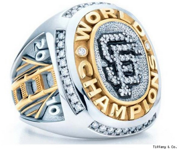 tiffany sf giants ring