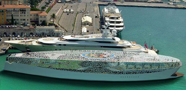 voronoi mega yacht