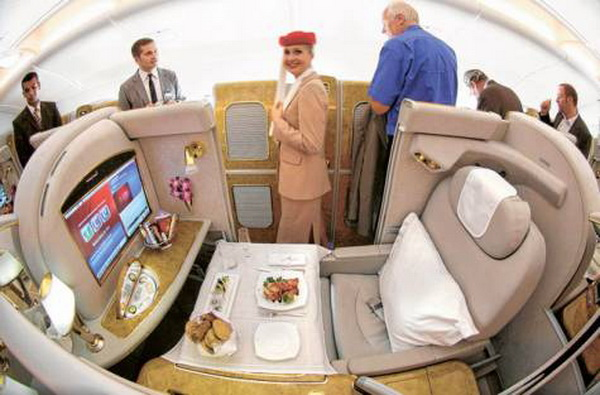 first class luxury middle east airlines