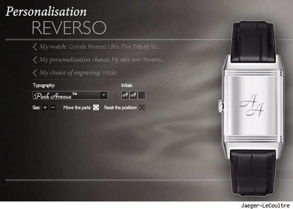 reverso watches Personalize Your Jaeger LeCoultre Reverso Watches Online
