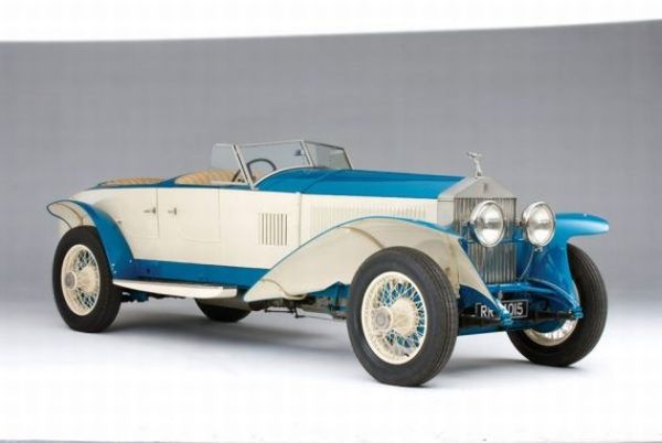 1926 Rolls Royce Experimental Phantom 1 Continental '10 EX' The Best Ten Luxury Vintage Cars Up For Sale At The Salon Privé & Concours d'Elegance Hosted By RM Auctions
