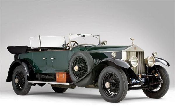 1926 Rolls Royce Phantom I Tourer The Best Ten Luxury Vintage Cars Up For Sale At The Salon Privé & Concours d'Elegance Hosted By RM Auctions
