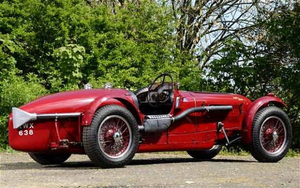 1939 Aston Martin 2 litre Brooklands The Best Ten Luxury Vintage Cars Up For Sale At The Salon Privé & Concours d'Elegance Hosted By RM Auctions
