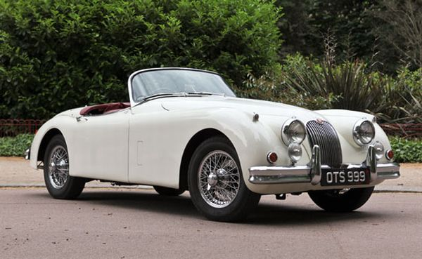 1959 Jaguar XK150 3.8S Roadster The Best Ten Luxury Vintage Cars Up For Sale At The Salon Privé & Concours d'Elegance Hosted By RM Auctions