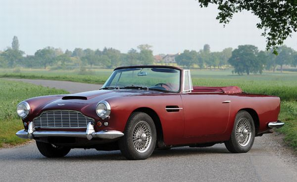 1961 Aston Martin DB4 Vantage Convertible The Best Ten Luxury Vintage Cars Up For Sale At The Salon Privé & Concours d'Elegance Hosted By RM Auctions