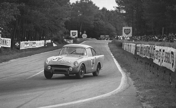 1961 Sunbeam Alpine Harrington Coupé