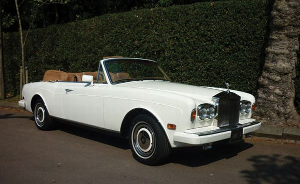 1993 Rolls Royce Corniche IV Cabriolet The Best Ten Luxury Vintage Cars Up For Sale At The Salon Privé & Concours d'Elegance Hosted By RM Auctions