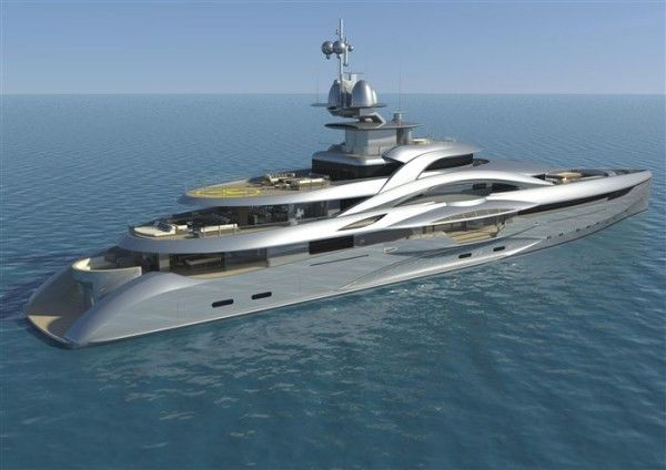 Mars Megayacht Harrods Makes Superyachts and Megayachts Available for its Ultra Rich Clientele
