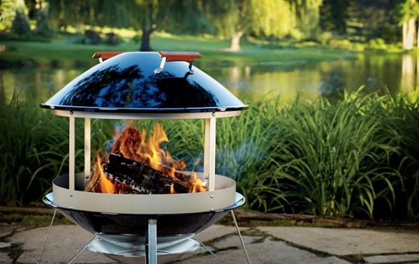 Weber-Fireplace