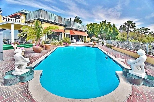 Zsa Zsa Gabor's 28-room French Regency-style mansion in Bel-Air is for sale.