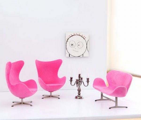 dollhouse eggchairs-and-sofa