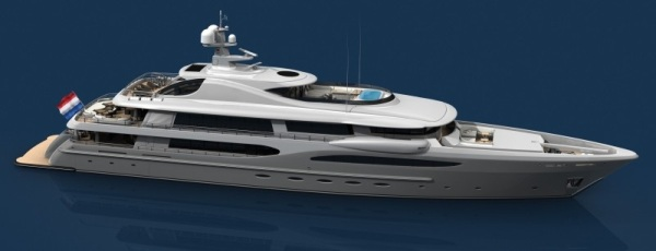 Details Imagine Is The First Super Yacht From Amels 212 LIMITED EDITION Luxury Segment This Boat Houses A Master Suite And Two VIP Cabins
