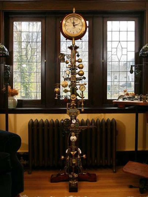 Just stuff i like on pinterest mid century modern for Steampunk house design