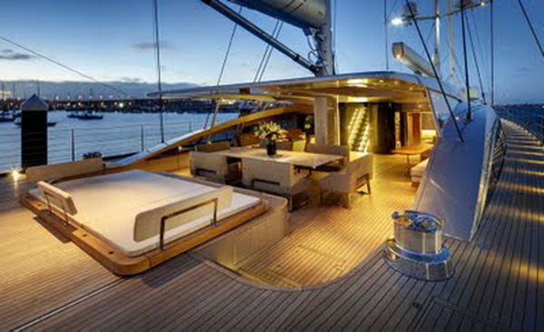 Details The Brief Given To Designers Of This Luxury Yacht Was That It Should Have An Urban Feel As You Step Inside Is Clear