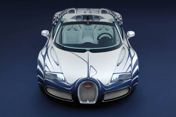 Bugatti Veyron L'Or Blanc Sports Car 2
