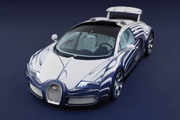 Bugatti Veyron L'Or Blanc Sports Car  3