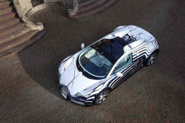 Bugatti Veyron L'Or Blanc Sports Car  5