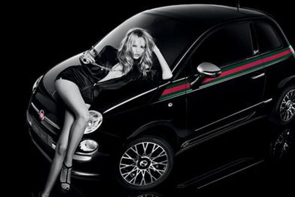 Gucci Car Girl Fiat 500 by Gucci being Targeted Specifically to Women in UK
