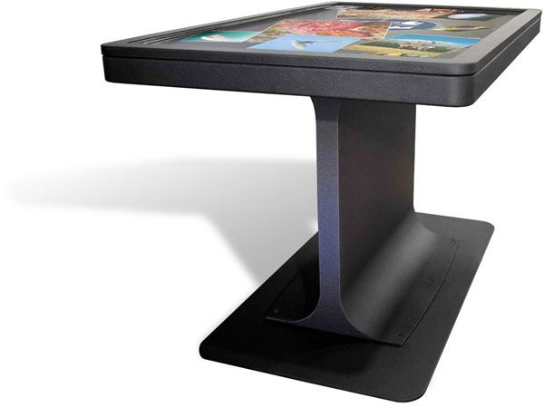Ideum mt55 table MT55 Multitouch Table by Ideum is an Improved Version Including the Price at $17,950