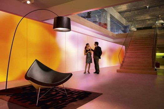 Philips' Luminous Room of the Future