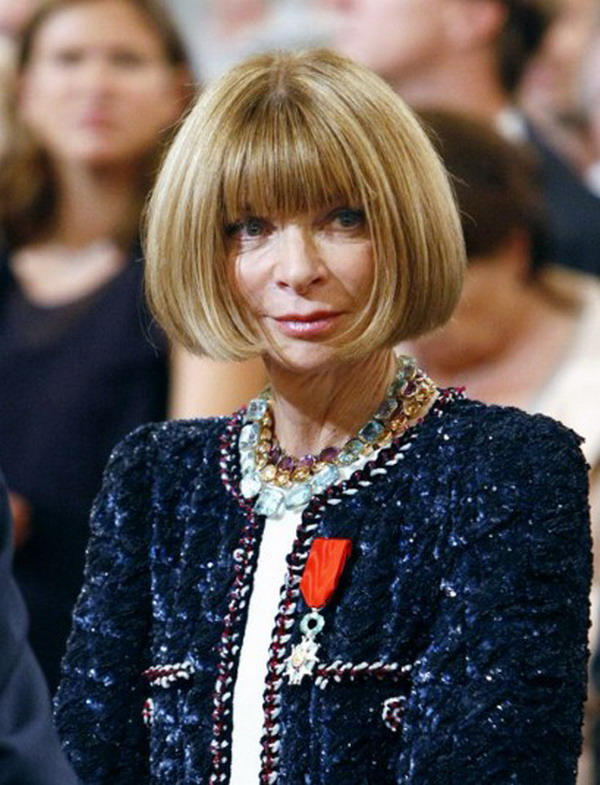 anna wintour Vogues Anna Wintour Is Awarded Frances Highest Legion Of Honor