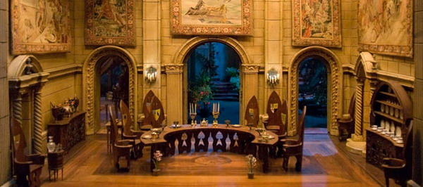 fairy castle dining room Colleen Moores Fairy Castle Dollhouse Costs $500,000