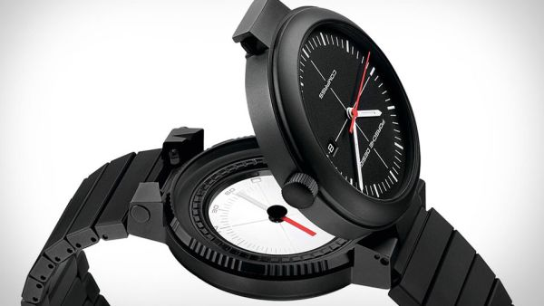 porsche's compass watch