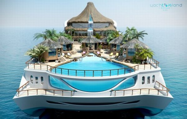 yachtdesign's floatingisland megayacht