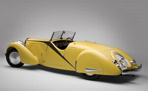 1935 Bugatti Type 57 Grand Raid Roadster 2011 Pebble Beach Auction: The Best & The Most Gorgeous Vintage Cars To Go Under The Hammer