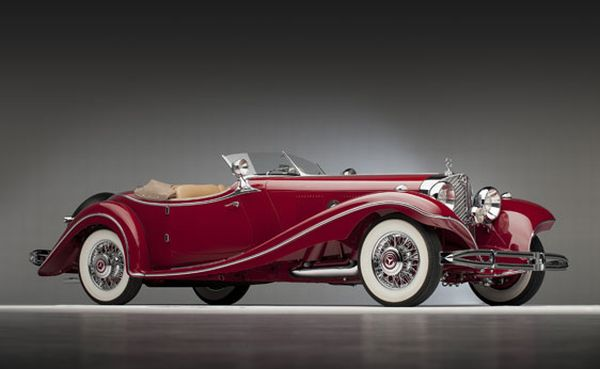 1935 Mercedes Benz 500 K Roadster 2011 Pebble Beach Auction: The Best & The Most Gorgeous Vintage Cars To Go Under The Hammer