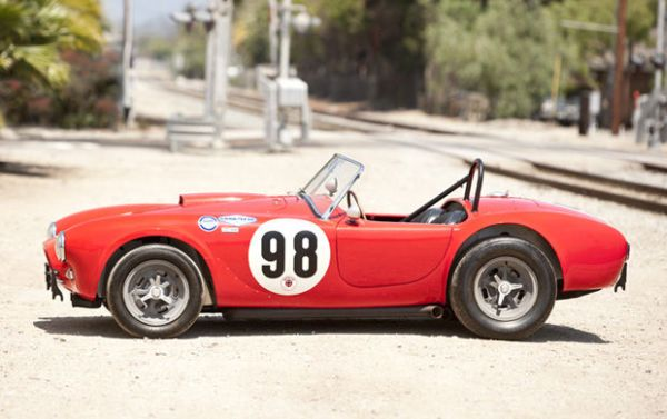 1963 Shelby Cobra 289 Factory Team Car 2011 Pebble Beach Auction: The Best & The Most Gorgeous Vintage Cars To Go Under The Hammer