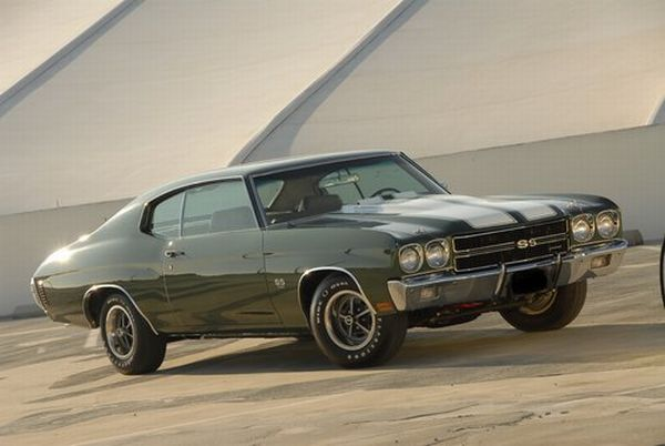 1970 Chevrolet Chevelle SS 454 LS6 Pilot Car 2011 Pebble Beach Auction: The Best & The Most Gorgeous Vintage Cars To Go Under The Hammer
