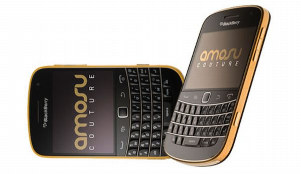 Amosu Blackberry Bold 9900 Gold Edition 2