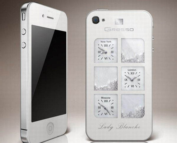 Gresso iPhone 4 Time Machine Lady Blanche Edition