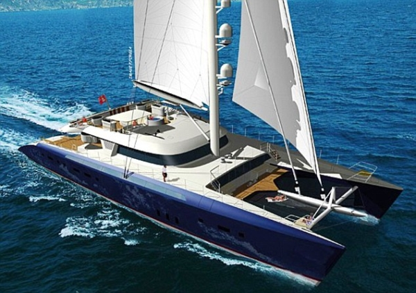 Hemisphere Worlds largest luxury catamaran, Hemisphere, can be hired for £172,900 a week.