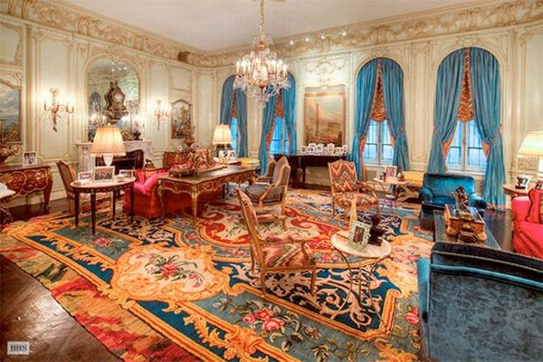 Mansions Interior Mansion on 4 East 80 Street Listed for $90 Million Available for $165,000 a Month