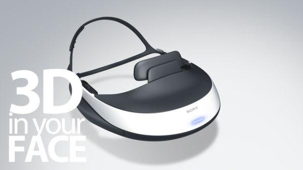 Sony HMZ-T1 3D helmet  2