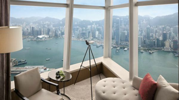 View from Ritz Carlton Hong Kong