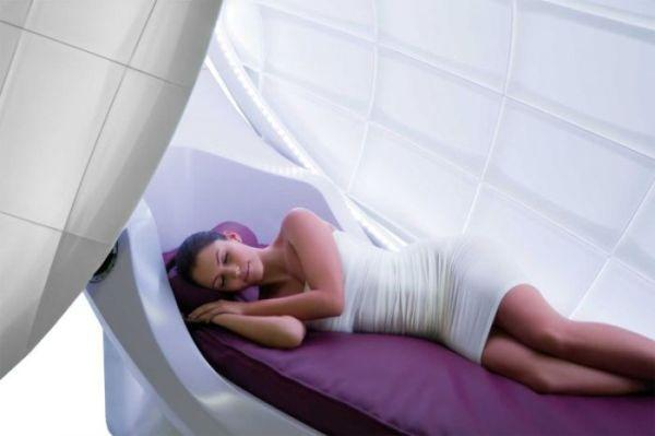 Fesselnd Wasserbetten Unveils A Pod For Relaxation, Does A Luxe Job At It